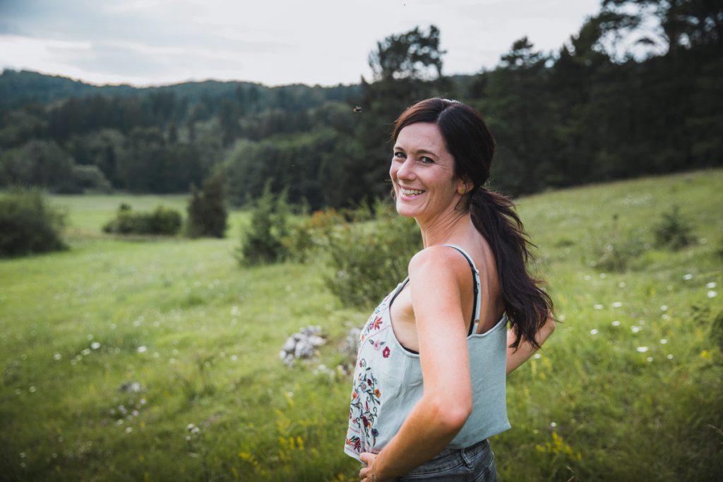 Fotoshooting Regina Reportage glücklich