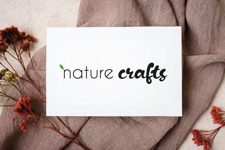 Visitenkarte nature crafts